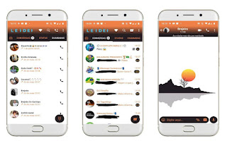 Landscape White Theme For GBWhatsApp Download