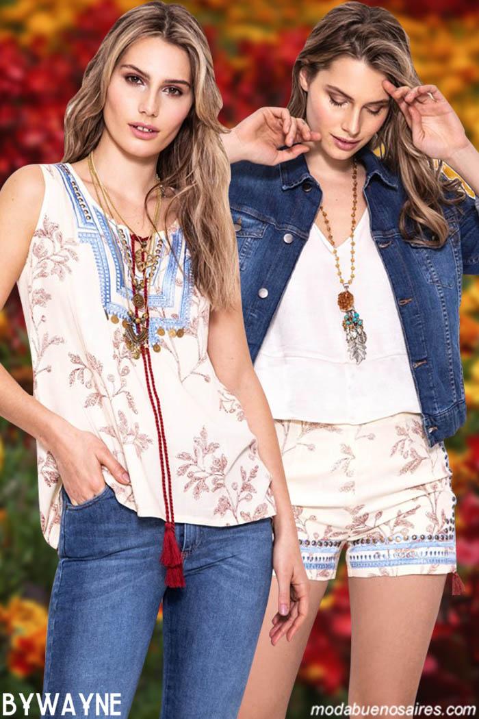 Tops y blusas primavera verano 2020. │ Moda primavera verano 2020 moda mujer.