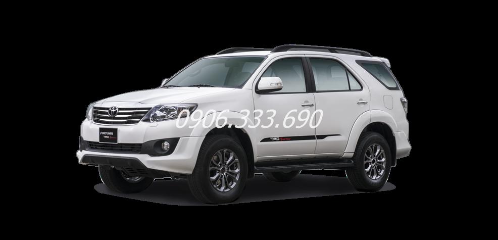 Toyota Fortuner 2015 mau trang