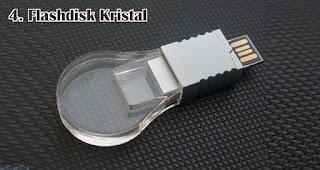 Flashdisk Kristal merupakan salah satu jenis flashdisk unik yang cocok dijadikan souvenir