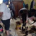 Polres Wajo Amankan Puluhan Minuman Keras Dari Penjualnya