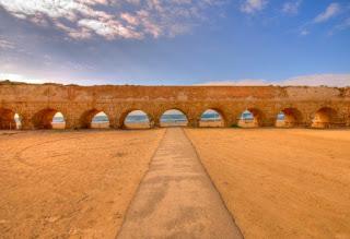 8. Aqueduct Caesarea