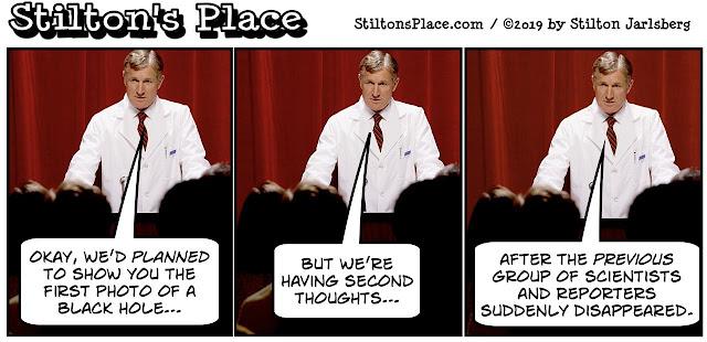 stilton's place, stilton, political, humor, conservative, cartoons, jokes, hope n' change, black hole, image, picture, washington, donut, science, astronomy