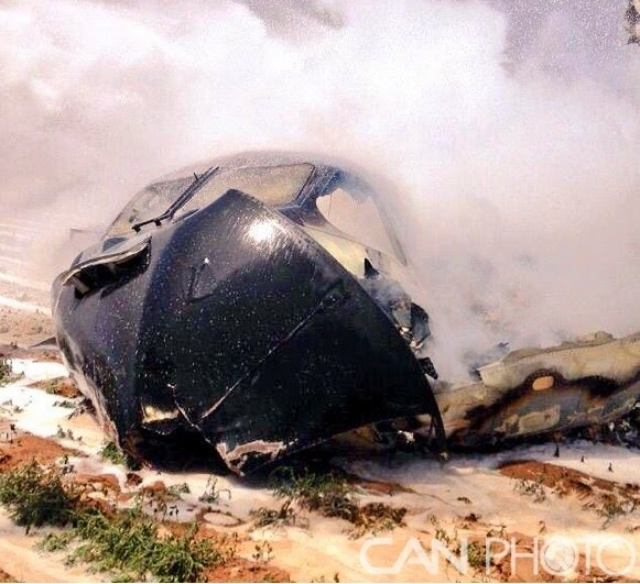 Airbus A400M Transport Plane Crashed near Seville airport in