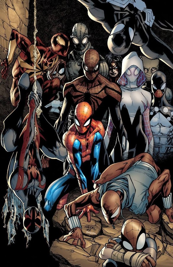 spider army marvel comics