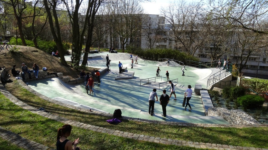 Skatepark Issy les moulineaux