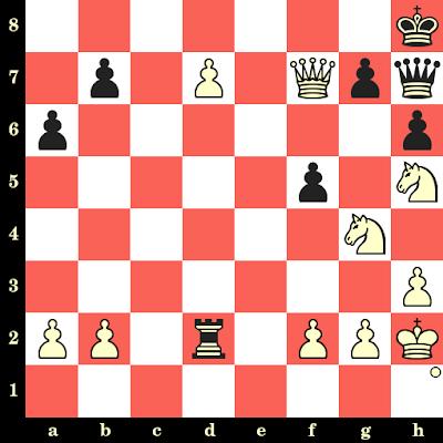 Les Blancs jouent et matent en 4 coups - Camilla Baginskaite vs Nazrana Khan, Turin, 2006