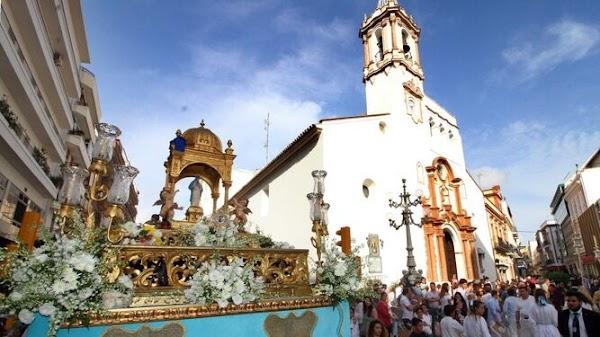 La ciudad de Huelva se queda sin las procesiones del mes de mayo