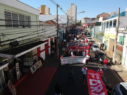 Manifestação Fora Bolsonaro em Ribeirão Preto-SP - #Blog O Calçadão