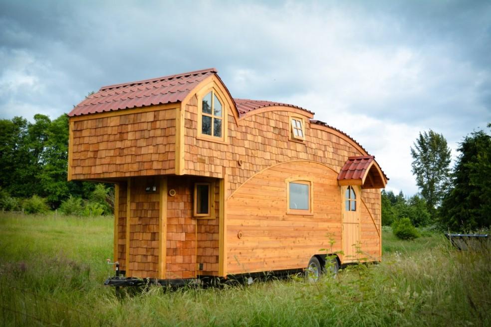 Shedworking moondragon half shed half house - The cork hut a flexible housing alternative ...