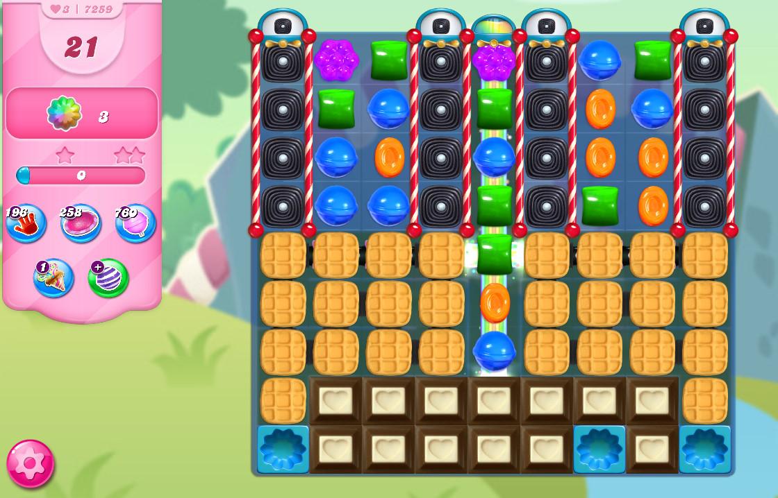 Candy Crush Saga level 7259