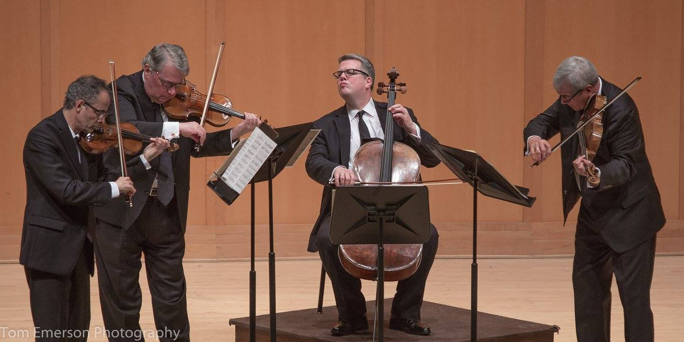 Northwest Reverb: With perfection, the Emerson String Quartet passes