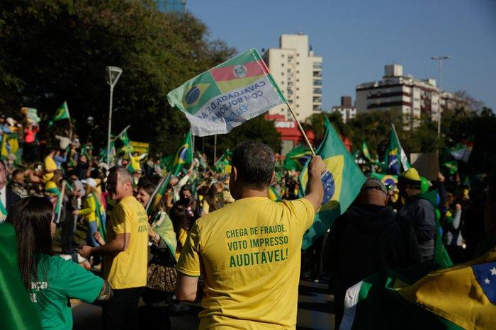 Manifestação pelo voto impresso