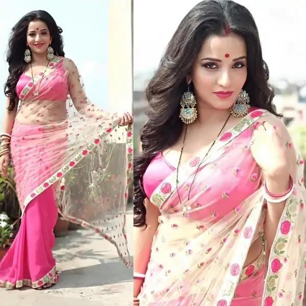 monalisa-aka-antara-biswas-saree-photos