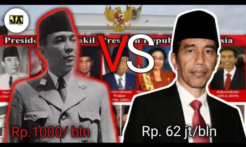Daftar Besaran Gaji 7 Presiden Indonesia, Mulai dari Soekarno hingga Jokowi, Siapa Paling Besar?