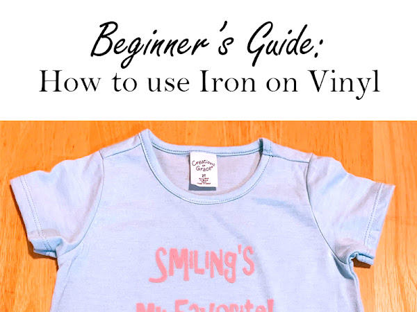 Beginner Guide on How to Use Iron On Vinyl with an Easy Press
