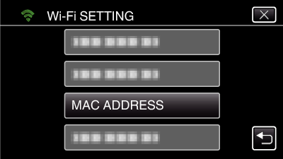 mac address animation