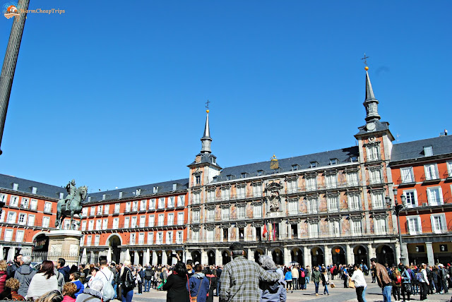 plaza mayor madrid, Madrid, cosa vedere a madrid, itinerario a madrid, due giorni a Madrid, blogger madrid