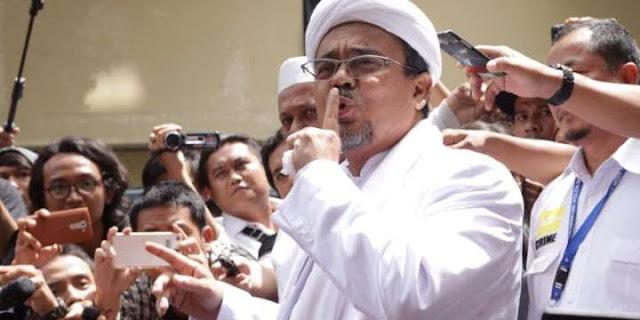 FPI: Habib Rizieq No Comment Soal Prabowo