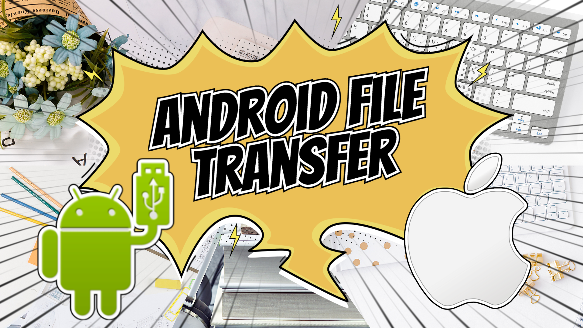 Android File Transfer:傳送手機檔案至 Mac