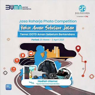 Lomba Fotografi Nasional 2021, Gratis Oleh Jasa Raharja - Perpus SMA Xavela