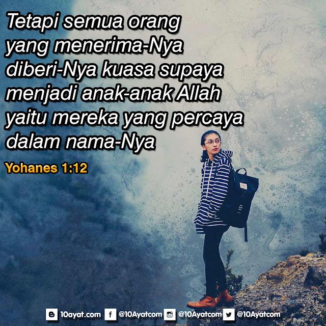Yohanes 1:12