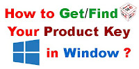 How to Know Your Window product Key?