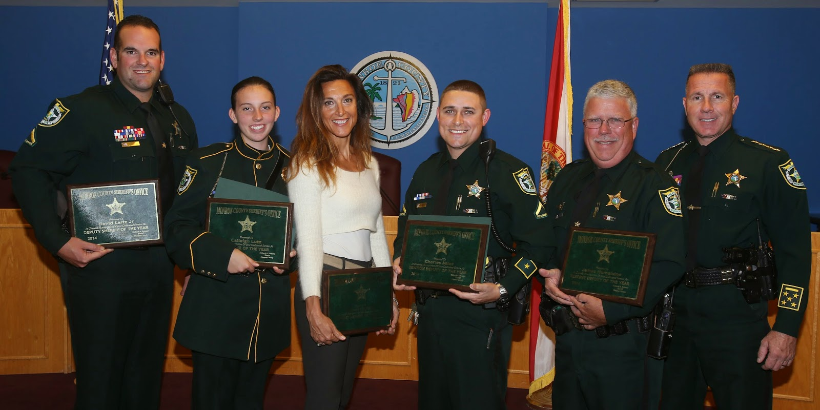 Monroe County Sheriff's Office: Sheriff honors employees of the year
