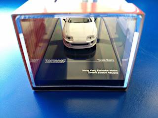 Tarmac Works 480 pieces Toyota Supra  Hong Kong Minicar Festival Exclusive Model