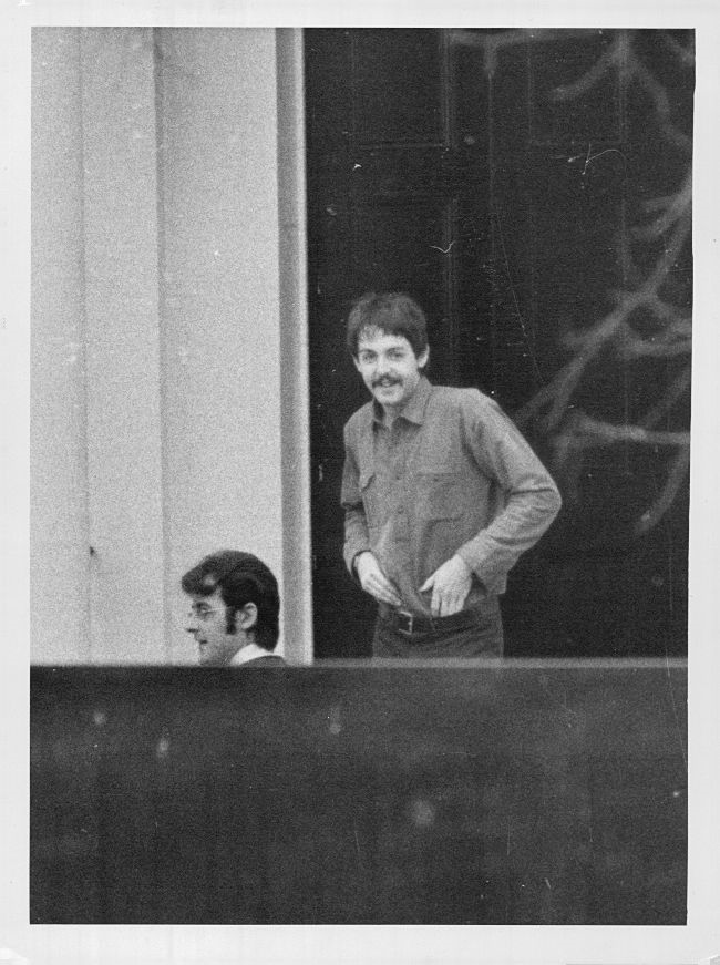 In 1966 People Couldnt Wait To See Paul McCartneys New Haircut And Mustache As Silly It Seems Not Was Big News Back Then