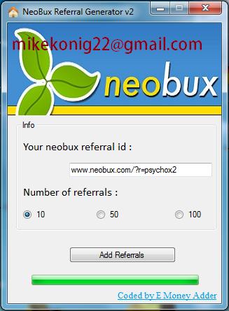 Neobux Money Generator Online Neobux Sing Up – SABBWWA