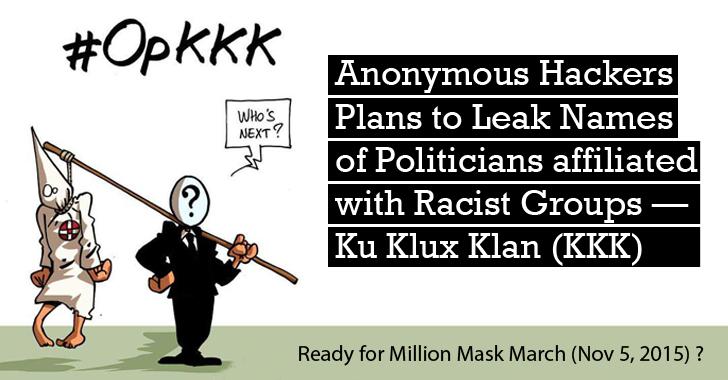 Anonymous Operation KKK