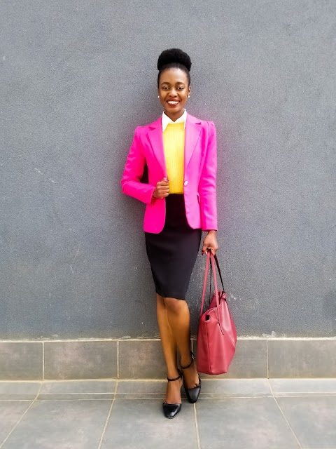 How To Color Block When Dressing For Work