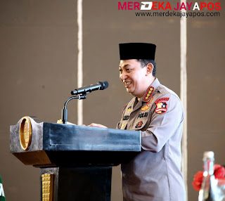 Kapolri Ajak Membangun Ketahanan Nasional Kepada Pemuda Muhammadiyah