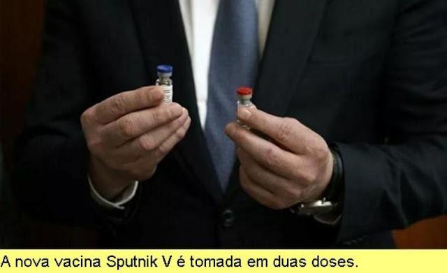 A vacina Sputnik V como salvadora da humanidade