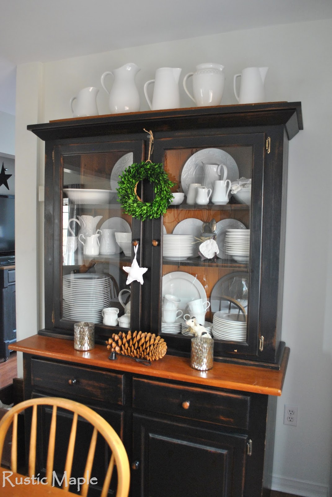 Rustic Dining Room Hutch Instant Rustic Storage and Style With a