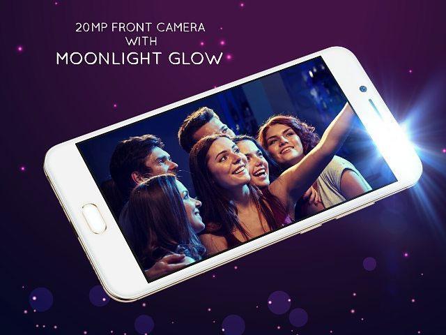 vivo v5 smartphone has 20mp selfie camera for 12 990 full specs features. Black Bedroom Furniture Sets. Home Design Ideas