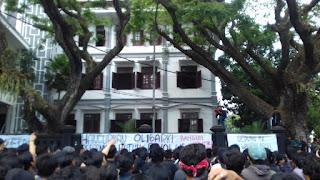 Demo mahasiswa Malang