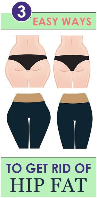 How To Lose Weight From Hips, 3 Easy Ways To Get Rid of Hip Fat