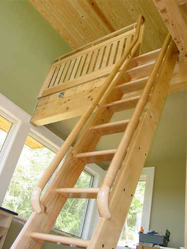 Small Scale Homes Space Saving Stairs Amp Ladders For Small