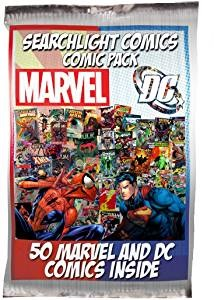 Click here to purchase Searchlight Comics 50 Comic Pack at Amazon!