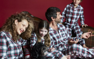 Family PJ's sets on sale at Macy's