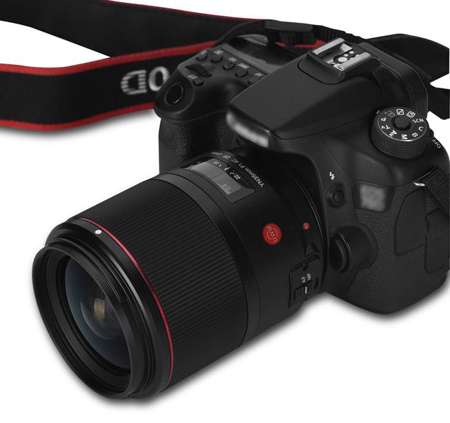 Объектив Yongnuo YN 35mm f/1.4C DF UWM