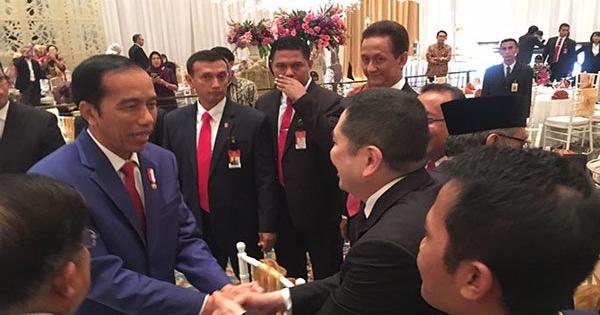 Perindo Impikan Duet Jokowi-HT