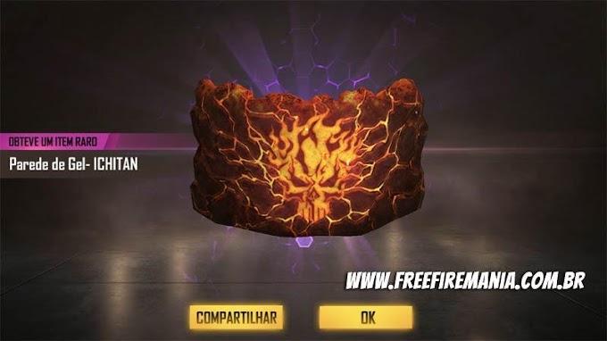 CONFIRA NOVA PAREDE DE GEL QUE CHEGA NO FREE FIRE