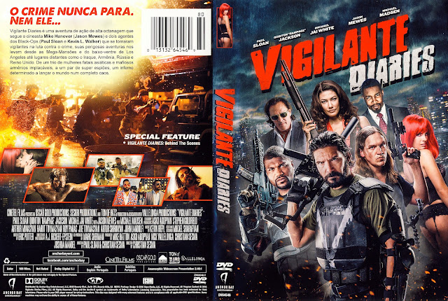 Capa DVD Vigilante Diaries [Custom]