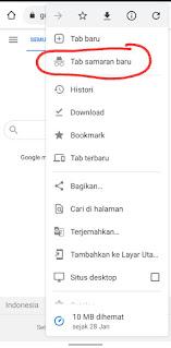 Cara Menggunakan Mode Incognito Chrome PC Dan Android