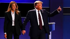 Trump y Melania  dan positivo por coronavirus