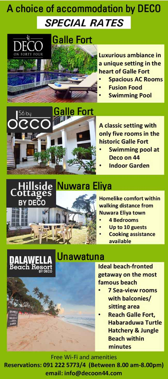 Deco Hotels | Relax in luxury comfort with our special rates.