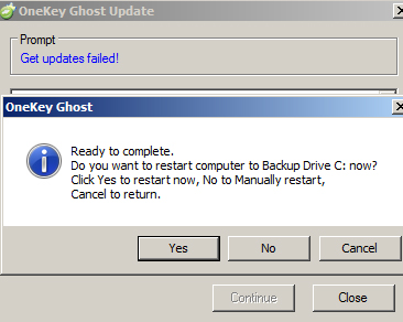 Tải Onekey Ghost - Ghost Wi 10, 8.1, 7 đơn giản không cần đĩa d